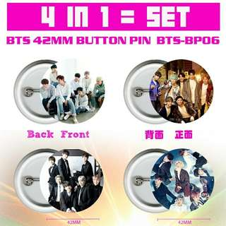 BTS BUTTIN BADGE