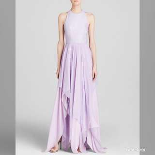 Alice and Olivia purple dress