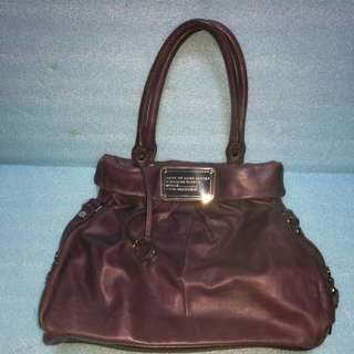 80% new Marc by Marc Jaccobs purple bag