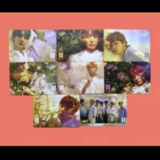 BTS專輯 yescard