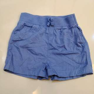 Baby's Blue Short Pants (12-18m)