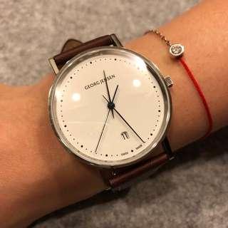 Georg Jensen 喬治傑森 全新真品手錶