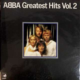 ABBA Greatest Hits Vol. 2 Vinyl Record