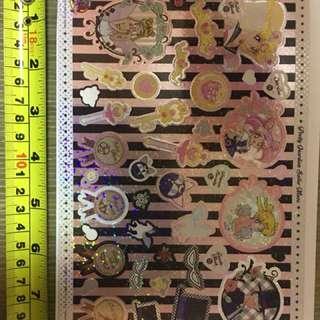 Sailormoon 美少女戰士 曰版 扭蛋機 貼紙