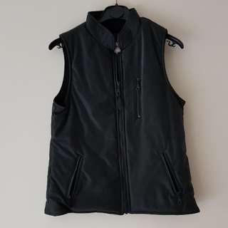 Fiorucci shiny black vest