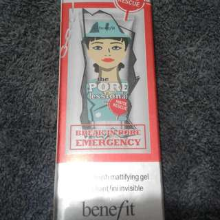Benefit Super Mattifying Gel Primer