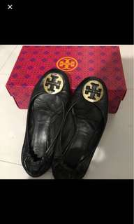 Tory burch flat authentic 100% size 8