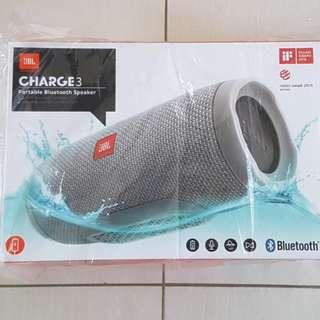 Local Warranty JBL Charge 3 - Grey