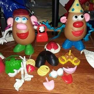 Mr & mrs potato