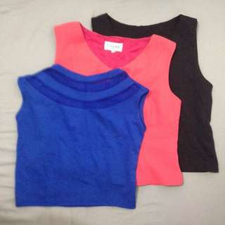 REPRICED! Take all! Crop top