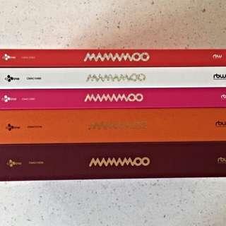 [WTB] MAMAMOO ALBUMS