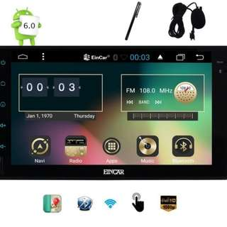 Car android stereo system (eincar)