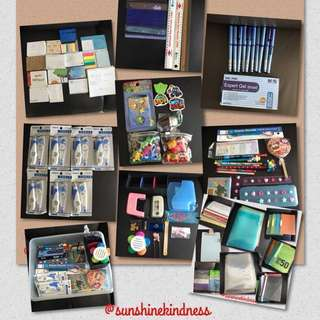 FREE Brand New & Preloved Assorted Stationery TO BLESS