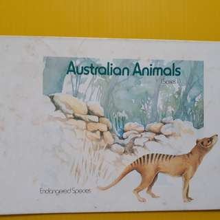 AUSTRALIA ( N ) Animals - 6 Unused / Mint Stamps of Endangered Species - fd03