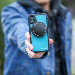 Ztylus Revolver M Series Lens Kit (Gloss Teal) for iPhone 7, 7 plus, 8,  8 plus, X