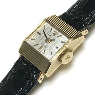 Rolex 2159 Precision Cal. 1800 (18K Yellow Gold) Vintage Watch