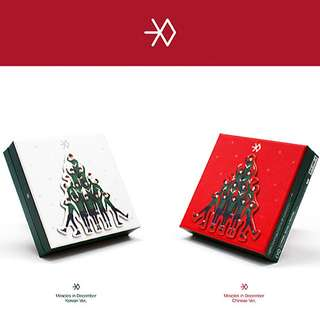 EXO M Winter Special Album: Miracle In December