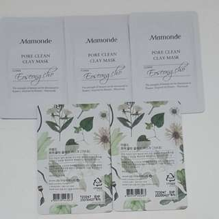 Mamonde Pore Clean Clay Mask - sample 4 ml
