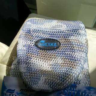 New rare blue camo motorcycle air seat cover