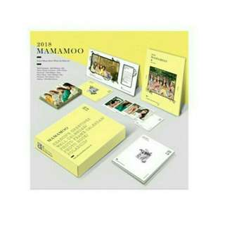 [Free pos][Sealed]Mamamoo SG 2018