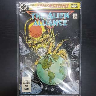DC Comics 80 PAGES INVASION BOOK ONE THE ALIEN ALLIANCE