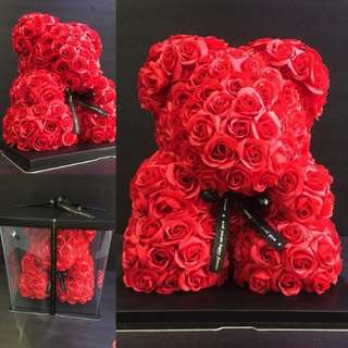 Soap Flower Bear 🐻🌷