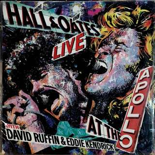 Hall and Oates Vinyl Record