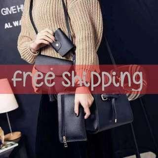 4 in 1 Korean Style Fashion Bags