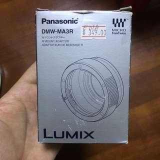 Panasonic LUMIX DMW-MA3R R Mount Adapter