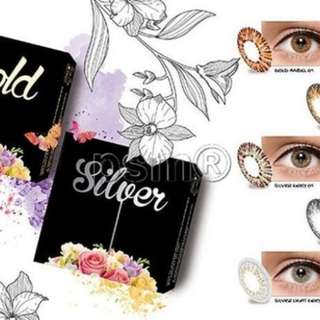 softlens Ice gold silver + air 60ml