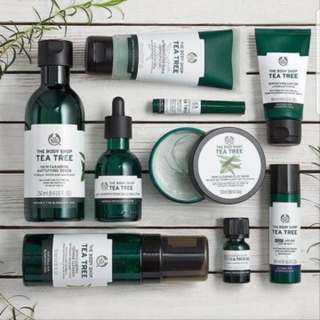 The Body Shop Skin Care Make Up Perfume all variant