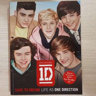 One Direction Dare to Dream Life as One Direction (biography book)