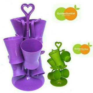 Gelas set cup 6pcs