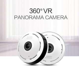 Wireless IP Camera - Fisheye camera (Mini Fisheye 360 Panoramic View) CCTV