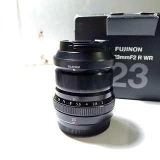 Lensa Fujifilm Fujinon XF 23mm F2 R WR