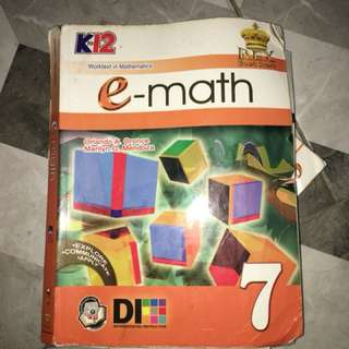 K-12 E math book