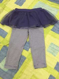 Carter's tutu leggings
