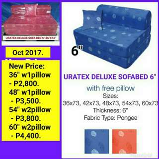 Uratex Sofabed Home Furniture Carousell Philippines