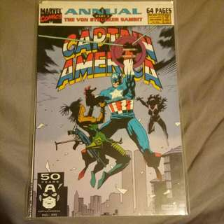 Captain America annual part 3 the von strucker gambit