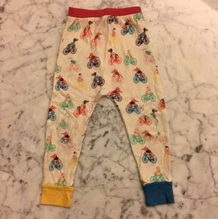 Tootsa bicycle print pants