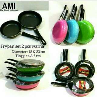 Panci set 2pcs