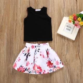 SET SHIRT + SKIRT