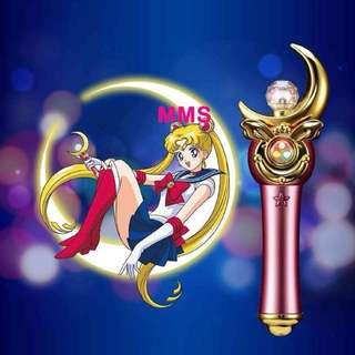 原裝行貨 第二彈 美少女戰士 SailorMoon  月野兔 新月棒 外置 充電 流動 電池  半年保養