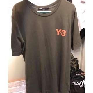 新年勁減 Y3 Y-3 comme des Garçon Play CDG 經典 綠心 Size M Bape ape baby milo head porter evisu 猿人 二手 tee t shirt