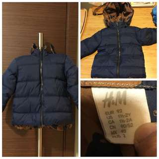 Baby Winter Coat - Brand H&M