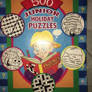 Children Puzzle Book/Coloring