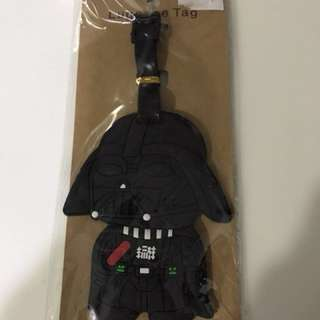 "Brand New ""Darth Vader"" Luggage Tag"