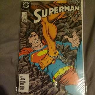 Rare vintage Superman DC comic book