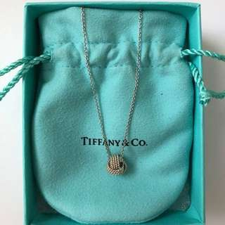 Tiffany & Co. Twist Knot Necklace