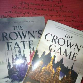 The crown's game series- book bundle